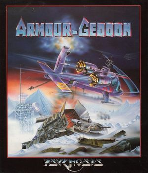 Cover for Armour-Geddon.