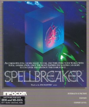 Cover for Spellbreaker.