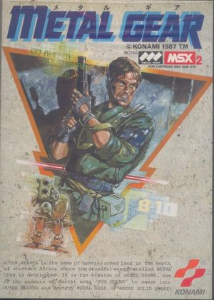 Cover for Metal Gear.