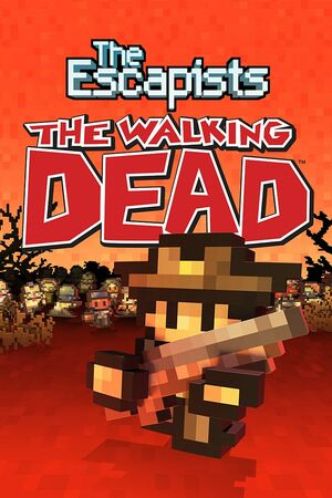 Cover for The Escapists: The Walking Dead.