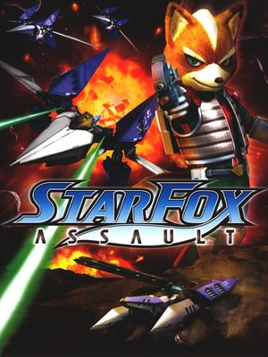 Cover for Star Fox: Assault.
