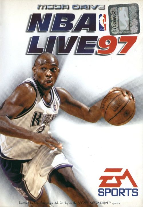 Cover for NBA Live 97.