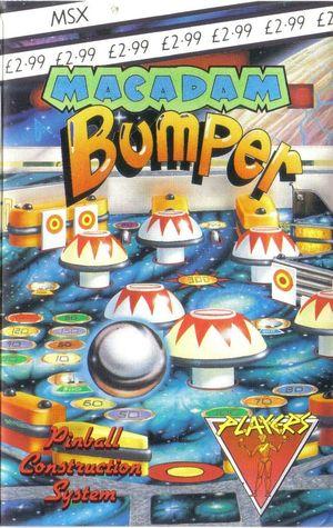 Cover for Macadam Bumper.