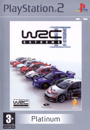 Cover for WRC II Extreme.