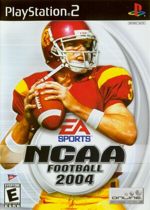 Cover for NCAA Football 2004.
