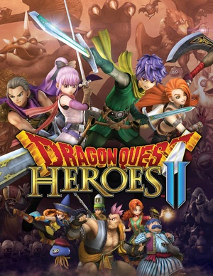 Cover for Dragon Quest Heroes II.