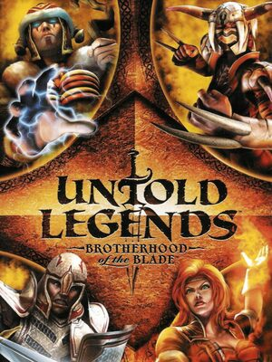 Cover for Untold Legends: Brotherhood of the Blade.