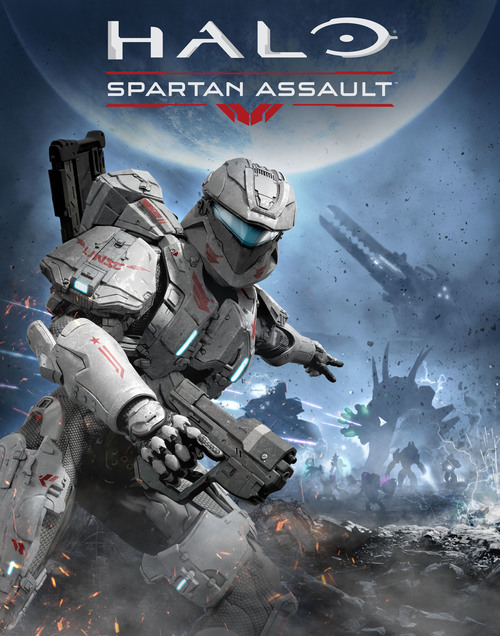 Cover for Halo: Spartan Assault.