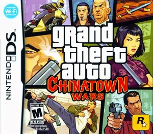 Cover for Grand Theft Auto: Chinatown Wars.