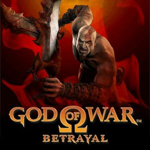 Cover for God of War: Betrayal.