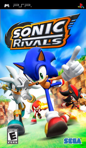 Cover for Sonic Rivals.