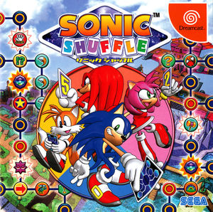 Cover for Sonic Shuffle.