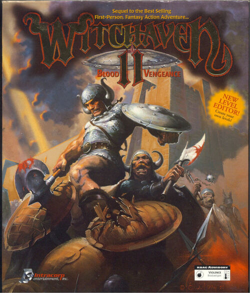 Cover for Witchaven II: Blood Vengeance.