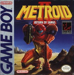 Cover for Metroid II: Return of Samus.