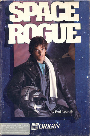 Cover for Space Rogue.