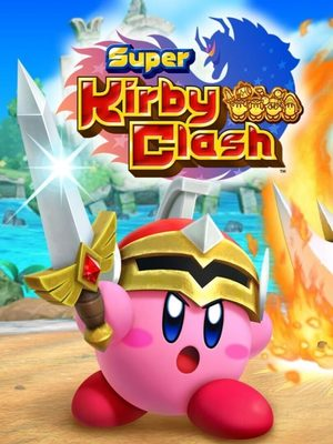 Cover for Super Kirby Clash.