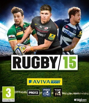 Cover for Rugby 15.