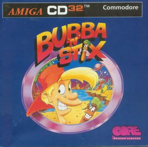 Cover for Bubba 'n' Stix.