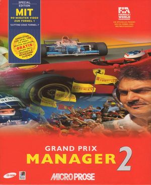 Cover for Grand Prix Manager 2.