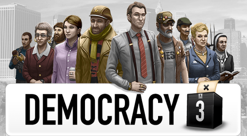 Cover for Democracy 3.