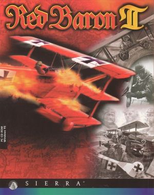 Cover for Red Baron II.