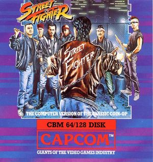 Cover for Street Fighter.
