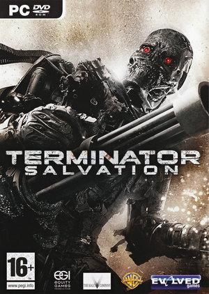 Cover for Terminator Salvation.