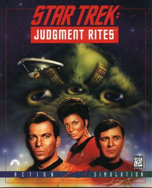 Cover for Star Trek: Judgment Rites.