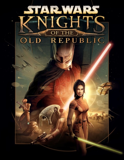 Cover for Star Wars: Knights of the Old Republic.
