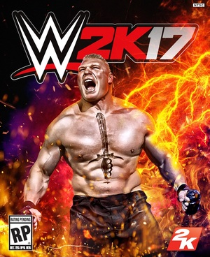 Cover for WWE 2K17.