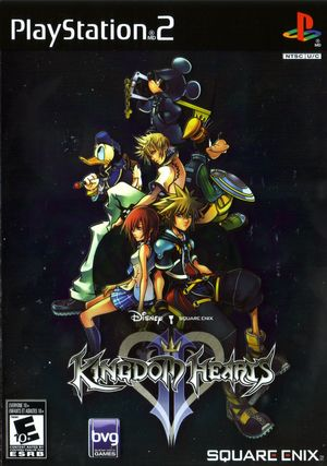 Cover for Kingdom Hearts II.