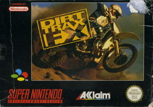 Cover for Dirt Trax FX.