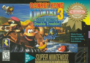 Cover for Donkey Kong Country 3: Dixie Kong's Double Trouble!.