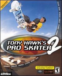 Cover for Tony Hawk's Pro Skater 2.