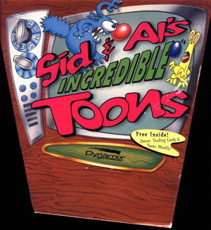 Cover for Sid & Al's Incredible Toons.