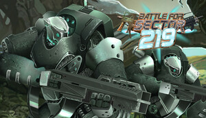 Cover for The Battle for Sector 219.