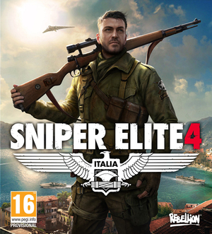 Cover for Sniper Elite 4.
