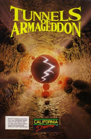 Cover for Tunnels of Armageddon.