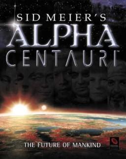 Cover for Sid Meier's Alpha Centauri.