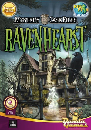 Cover for Mystery Case Files: Ravenhearst.