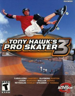 Cover for Tony Hawk's Pro Skater 3.