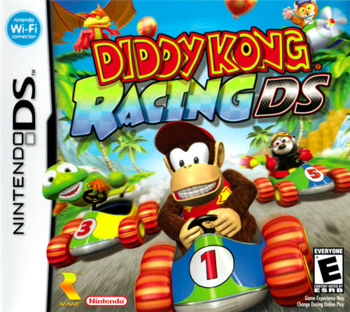 Cover for Diddy Kong Racing DS.
