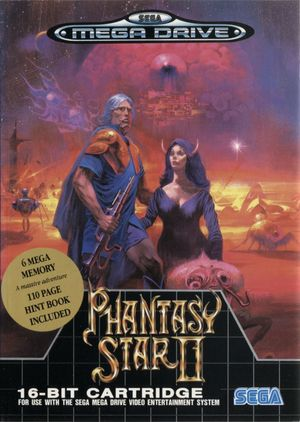 Cover for Phantasy Star II.