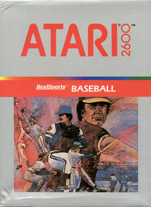 Cover for RealSports Baseball.