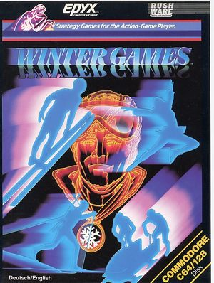 Cover for Winter Games.