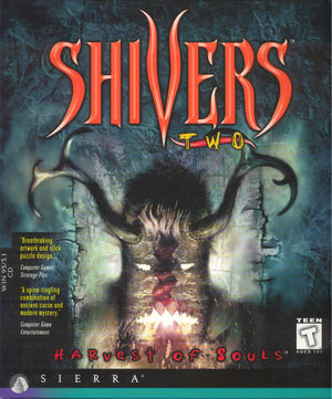Cover for Shivers II: Harvest of Souls.