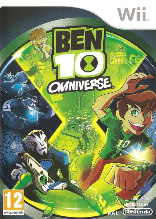Cover for Ben 10: Omniverse.