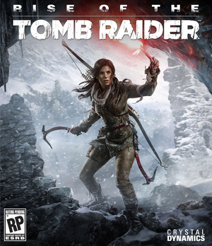 Cover for Rise of the Tomb Raider.