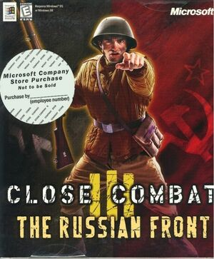 Cover for Close Combat III: The Russian Front.