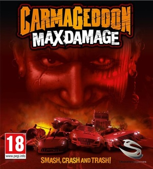 Cover for Carmageddon: Max Damage.